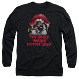 Long Sleeve: Rocky Horror Picture Show- Casting Throne T-Shirt