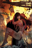 Daredevil No. 7 Cover Art Featuring: Daredevil, Elektra Posters by Bill Sienkiewicz