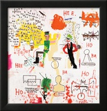 Riddle Me This, Batman, 1987 Framed Giclee Print by Jean-Michel Basquiat