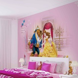 Disney Beauty & the Beast - Once Upon a Time - Vlies Non-Woven Mural Vlies Wallpaper Mural
