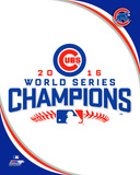 Chicago Cubs 2016 World Series Champions Logo Photo