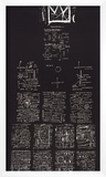 Tuxedo, 1982-83 Framed Giclee Print by Jean-Michel Basquiat