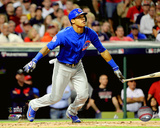 Addison Russell 2-Run Double Game 6 of the 2016 World Series Photo