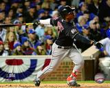Jose Ramirez Home Run Game 5 of the 2016 World Series Photo