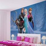 Disney Frozen - Group Wandgemälde