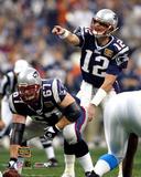 Tom Brady and Daniel Koppen - Super Bowl XXXVIII Photo