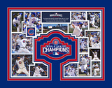 Chicago Cubs 2016 World Series Champions Milestones & Memories Matted Print