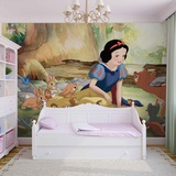 Disney Snow White - Forest Friends - Vlies Non-Woven Mural Carta da parati decorativa
