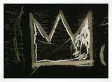Tuxedo, 1982-83(detail) Framed Giclee Print by Jean-Michel Basquiat