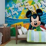 Disney - Mickey Mouse Let's Run - Vlies Non-Woven Mural Papier peint intissé