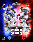 Chicago Cubs Vs. Cleveland Indians 2016 World Series Matchup Composite Photo