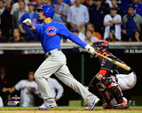 Willson Contreras RBI Double Game 7 of the 2016 World Series Photo