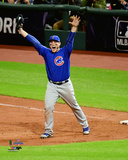 Anthony Rizzo celebrates the final out of Game 7 of the 2016 World Series Photo