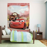 Disney Cars - Lightning McQueen and Mater - Vlies Non-Woven Mural Vlies Wallpaper Mural