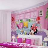 Disney - Minnie Mouse and Daisy Duck 4 - Vlies Non-Woven Mural Vægplakat