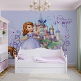 Disney Sofia the First - Ready to Be a Princess - Vlies Non-Woven Mural Bildtapet