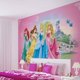 Disney Princesses - Sparkle and Shine - Vlies Non-Woven Mural Papier peint intissé