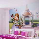 Disney - Sofia the First - Vlies Non-Woven Mural Tapettijuliste