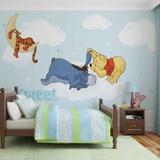 Disney Winnie the Pooh - Sweet Dreams - Vlies Non-Woven Mural Decorazione murale