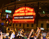 Wrigley Field after Game 7 of the 2016 World Series Photo