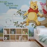 Disney Winnie the Pooh - Bees Can't Climb Trees - Vlies Non-Woven Mural Decorazione murale