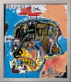 Untitled, 1981 Framed Giclee Print by Jean-Michel Basquiat