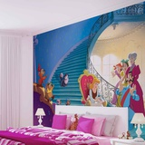 Disney Cinderella - Glass Slipper - Vlies Non-Woven Mural Vægplakat