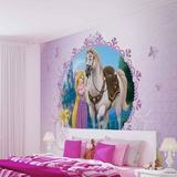 Disney Tangled - Rapunzel & Maximus - Vlies Non-Woven Mural Mural de papel pintado