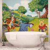Disney Winnie the Pooh - River Fun - Vlies Non-Woven Mural Decorazione murale