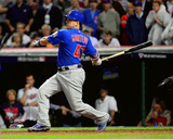 Miguel Montero RBI Single Game 7 of the 2016 World Series Photo