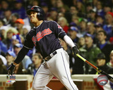 Jose Ramirez Home Run Game 5 of the 2016 World Series Photo