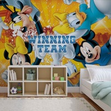 Disney - Mickey Mouse and Friends - Vlies Non-Woven Mural Papier peint intissé
