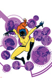 Patsy Walker, A.K.A. Hellcat! No. 7 Cover Art Featuring: Squirrel Girl, Jessica Jones and More Print by Wes Craig