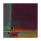 Perspectives in Color Marsala Print by Terri Burris