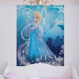 Disney Frozen - Elsa Ice Castle - Vlies Non-Woven Mural Carta da parati decorativa