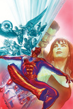 The Amazing Spider-Man No. 12 Cover Art Featuring: Iron Man, Thor, Nova, Ms. Marvel and More Posters by Alex Ross