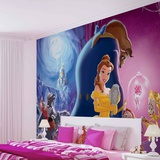 Disney - Beauty and the Beast - Vlies Non-Woven Mural Mural de papel pintado