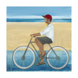 Bike Ride on the Boardwalk (Male) Prints by Terri Burris