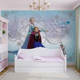 Disney Frozen - Sisters Forever - Vlies Non-Woven Mural Vægplakat