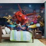 Disney Big Hero 6 - Vlies Non-Woven Mural Vægplakat
