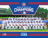 Chicago Cubs 2016 World Series Champions Team Sit Down Fotografía