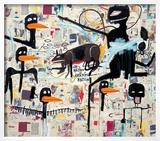 Tenor, 1985 Poster by Jean-Michel Basquiat