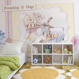 Disney Winnie the Pooh - Friendship - Vlies Non-Woven Mural Decorazione murale