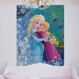 Disney Frozen - Winter and Spring - Vlies Non-Woven Mural Bildtapet (tapet)