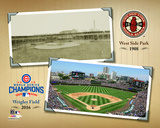 West Side Park / Wrigley Field Composite Photo