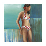 Polka Dot Bikini Posters by Terri Burris