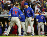 Ben Zobrist & Anthony Rizzo Game 6 of the 2016 World Series Photo