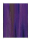 Linear Violet A Giclee Print by Gregory Garrett