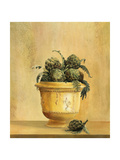 Artichokes Giclee Print by Hampton Hall