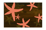 Starfish 1 Print by  jefdesigns